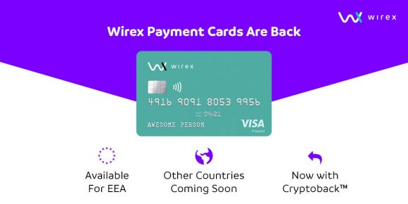 Ripple (XRP) Can Now Be Spent With the Wirex Debit Card