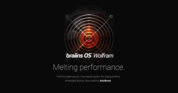 Braiins OS Wolfram With AsicBoost Support for All S9 ASIC Miners