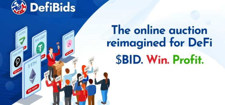 DefiBids Seeks to Make Crypto Auctions Profitable for Everyone