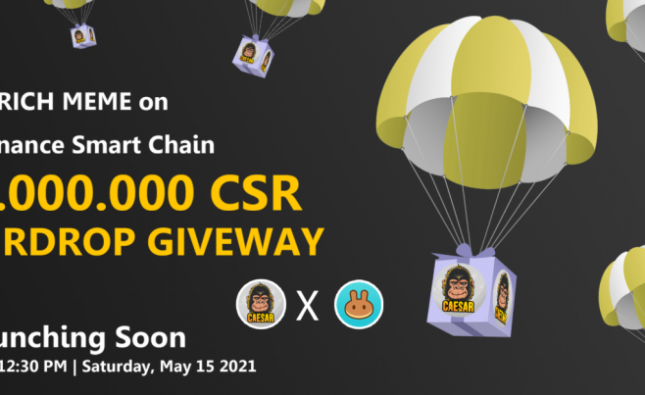 Caesar – The Rich Meme on Binance Smart Chain